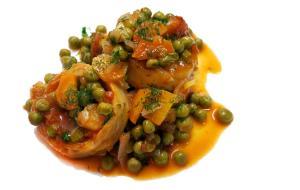 cooked artichokes greek vegan food