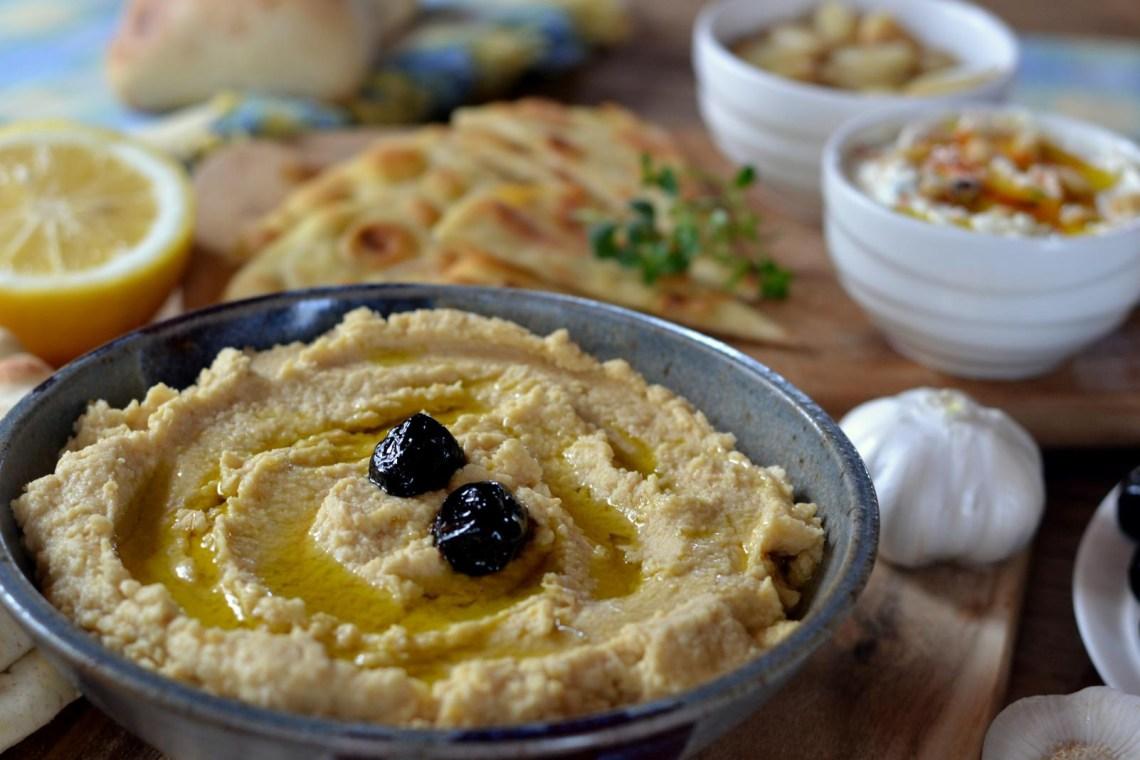 eggplant salad melitzanosalata dip greek vegan food
