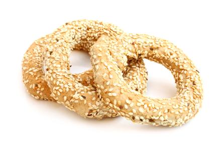 Koulouri - traditional Greek bread