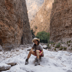 Hiking in Crete with kids Samaria