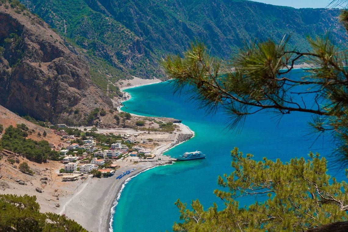 Agia Roumeli Samaria Gorge