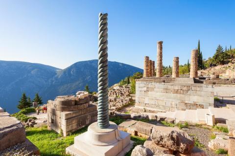 serpent column in Delphi