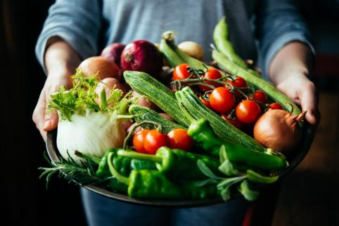 fresh vegetables greek cuisine