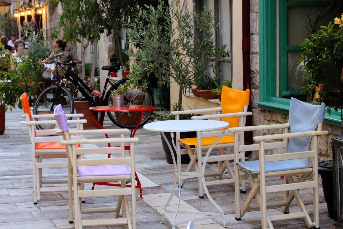 cafe in Nafplio