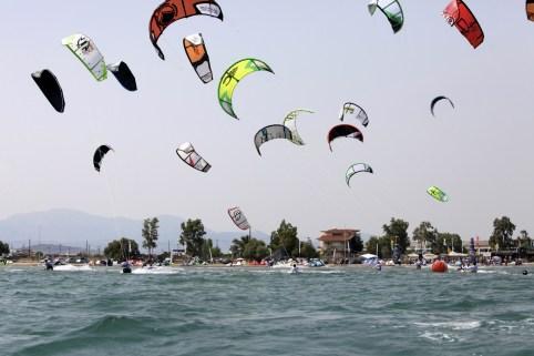 kite activity in Nafplion KidsLoveGreece.com