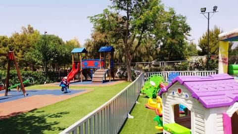 flisvos park playground Athens Kids Love Greece
