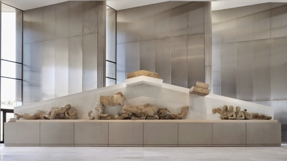 Ξενάγηση στο Μουσείο της Ακρόπολης με τα παιδιά