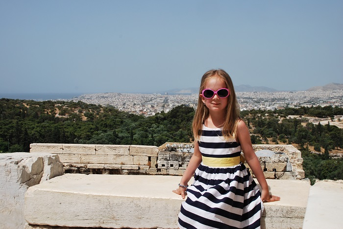 Athens with kids