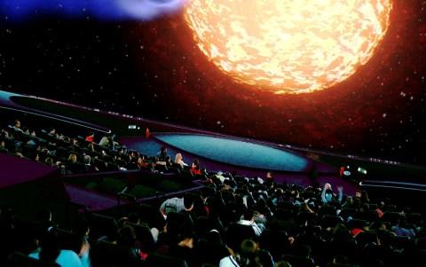 planetarium hal for families Athens