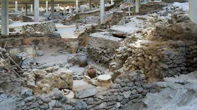 Archaeological Site of Akrotiri