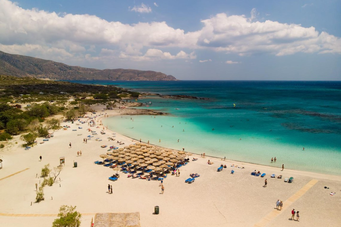 Elafonisi beach Chania