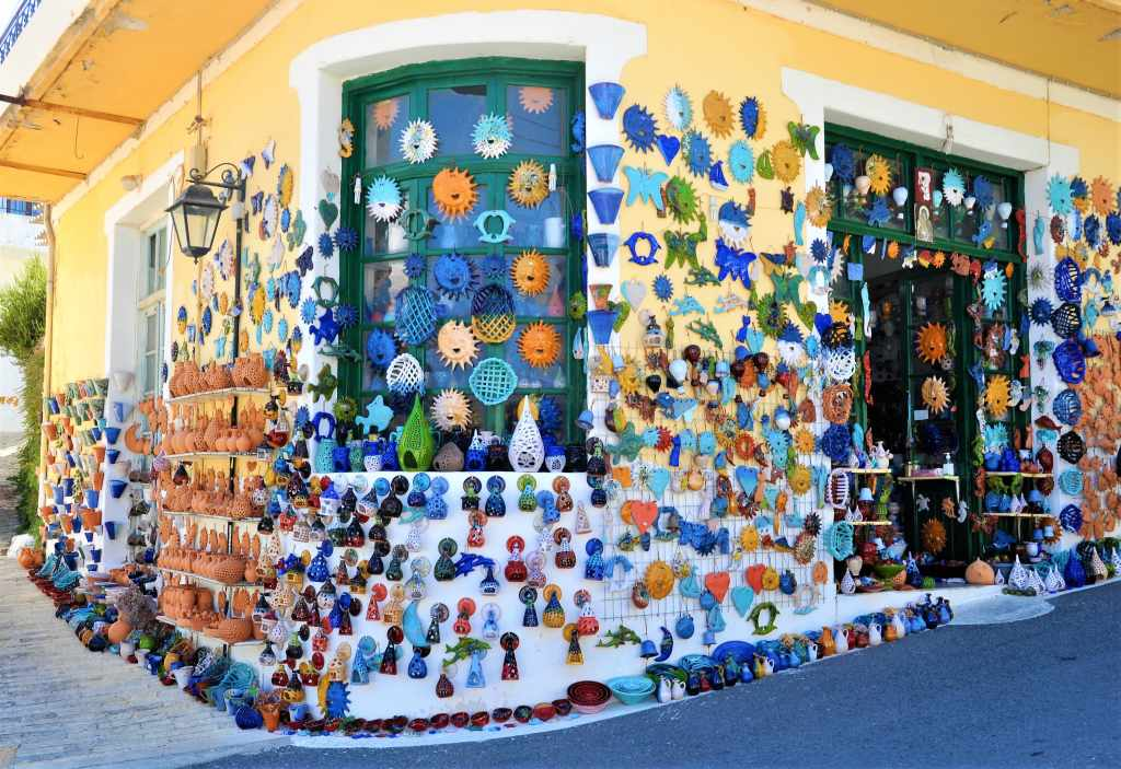 Margarites Village Pottery Workshops Rethymnon Crete Family Vacation with Kids Greece