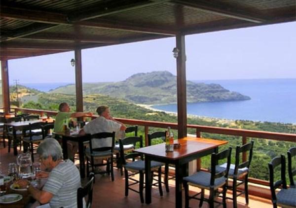 Plateia Taverna, Mirthios