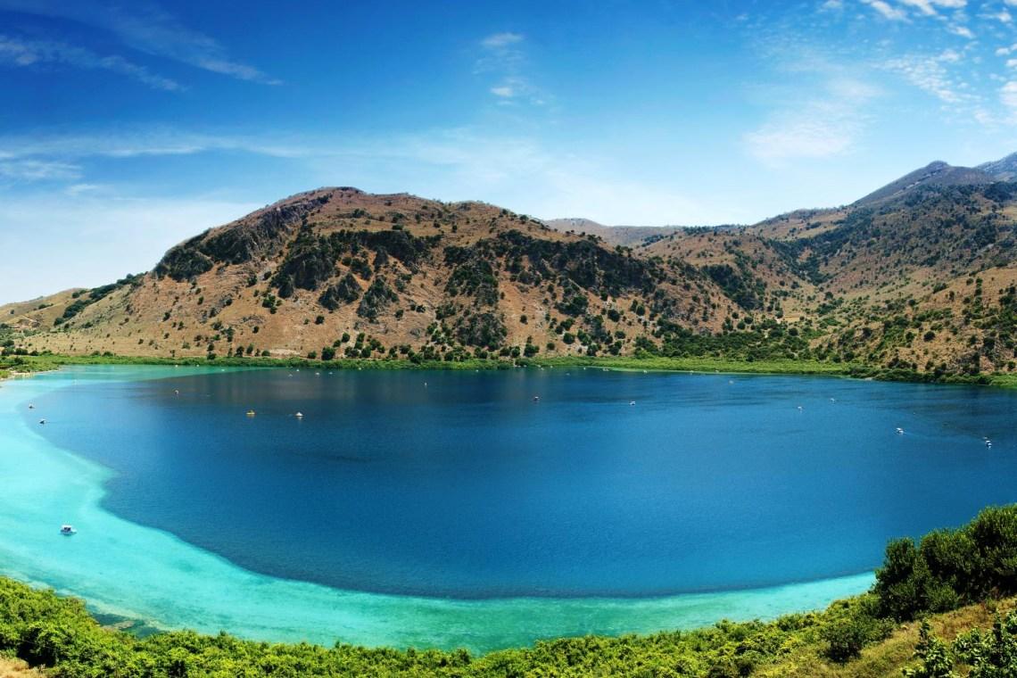 Kournas lake chania crete family tour KidsLoveGreece.com