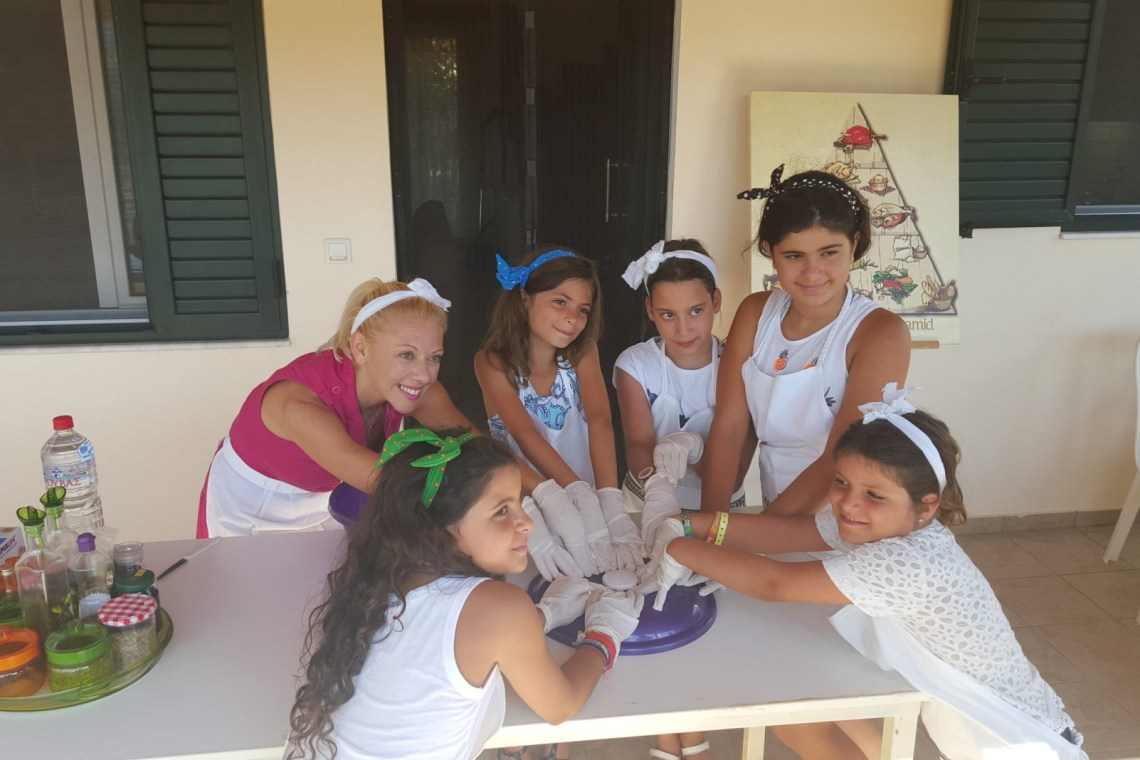 family activities Crete kids love Greece Cretan cuisine cooking class