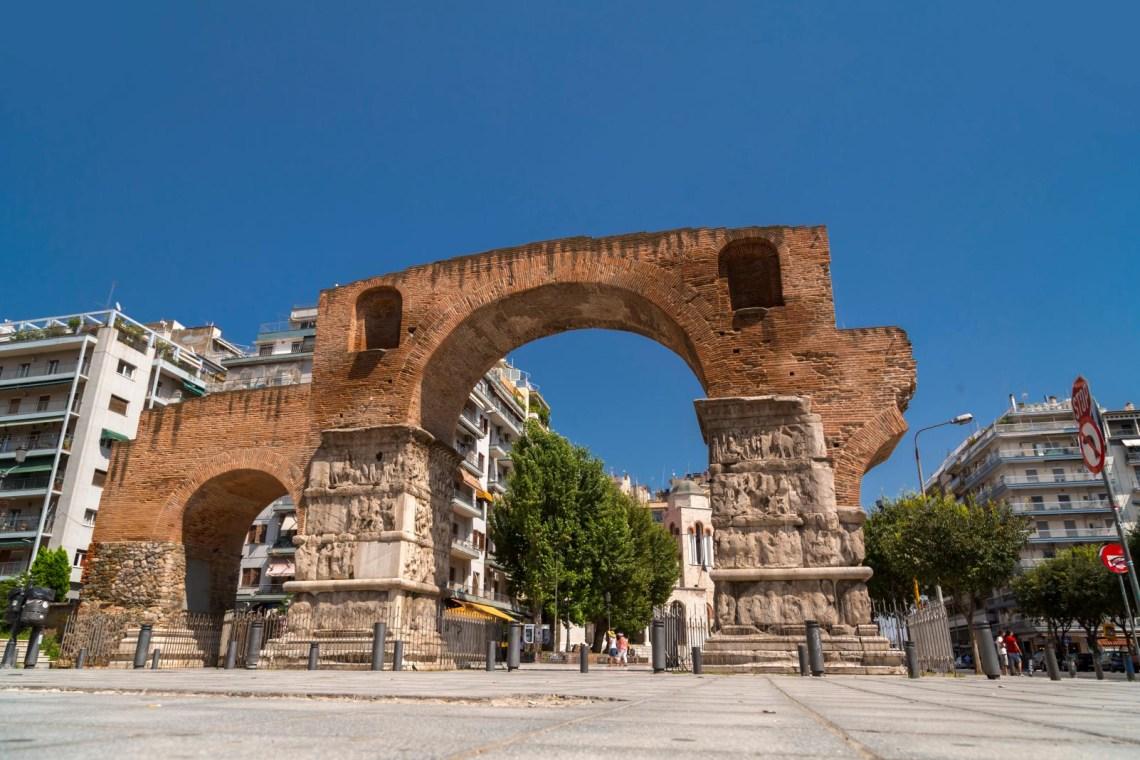 Thessaloniki arch