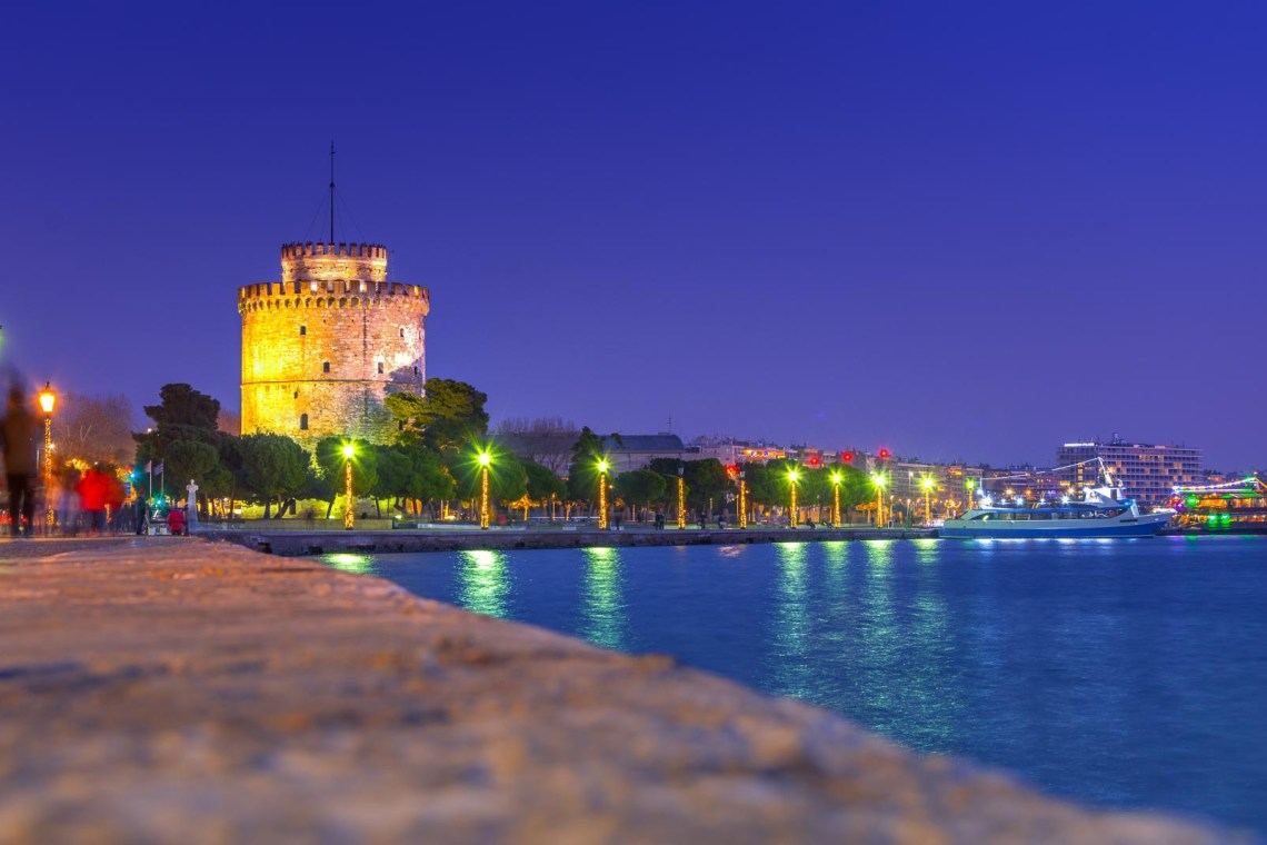 pier of Thessaloniki