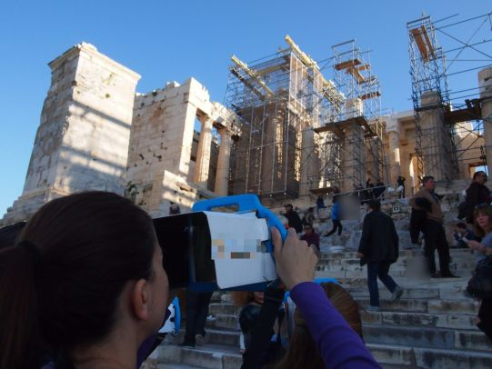 parthenon 3d virtual reality family tour