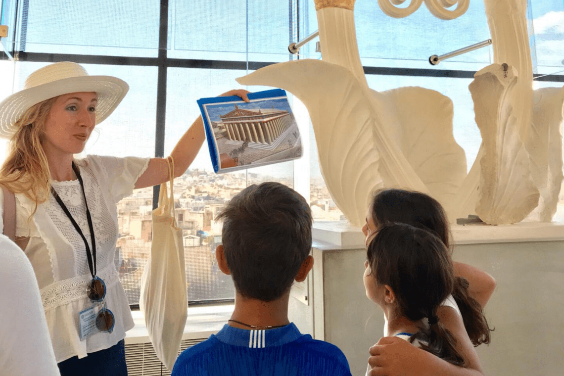 Acropolis Museum family friendly guide for kids all ages