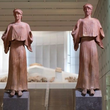 Visite guidée privée en famille du musée de l'Acropole