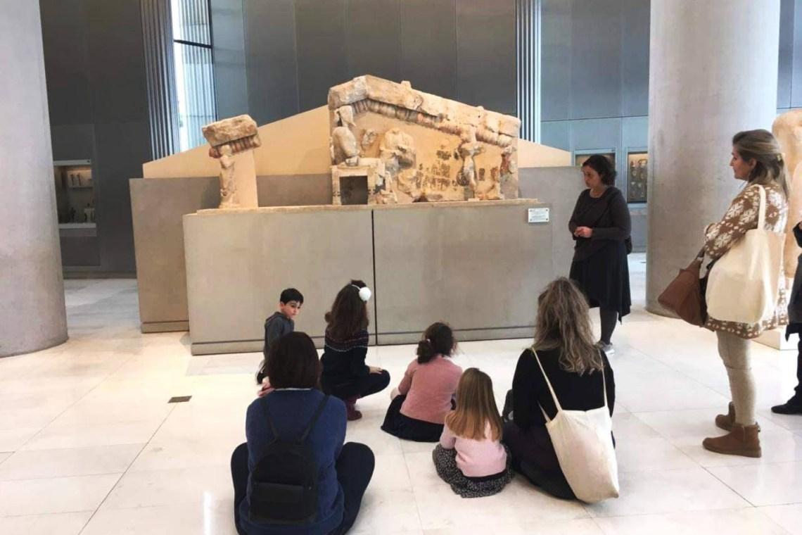 acropolis museum family tour