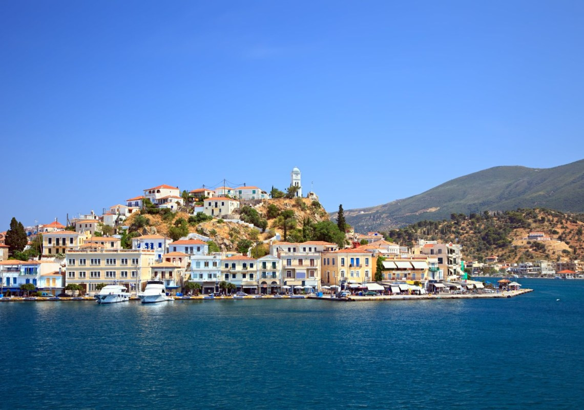 Poros Three Greek Islands in One day family friendly cruise Athens Saronic kids love greece activities