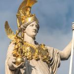 Athena statue KidsLoveGreece.com Athens mythology tours