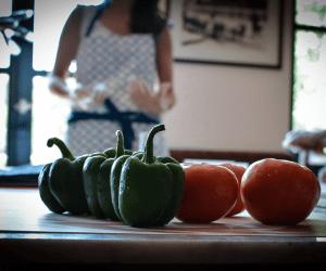 Greek cooking family workshop