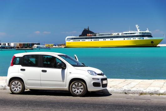 family car rental in Greece KidsLoveGreece.com