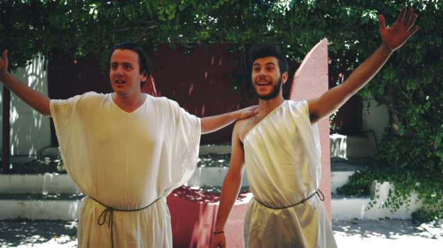 The 'Myths of Knossos', a Theatrical Play for Families