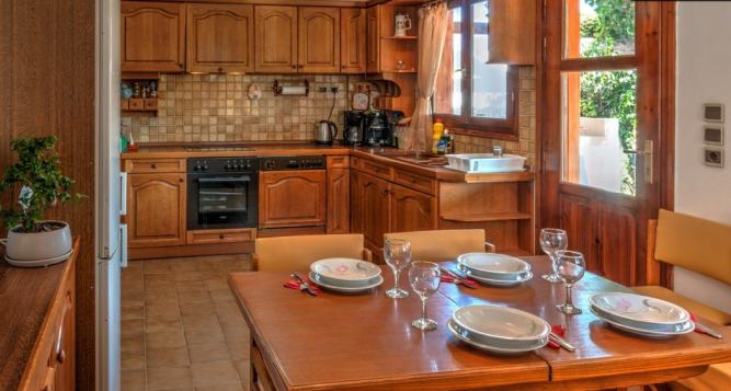 Detached family house with great view to Psiloritis mountain