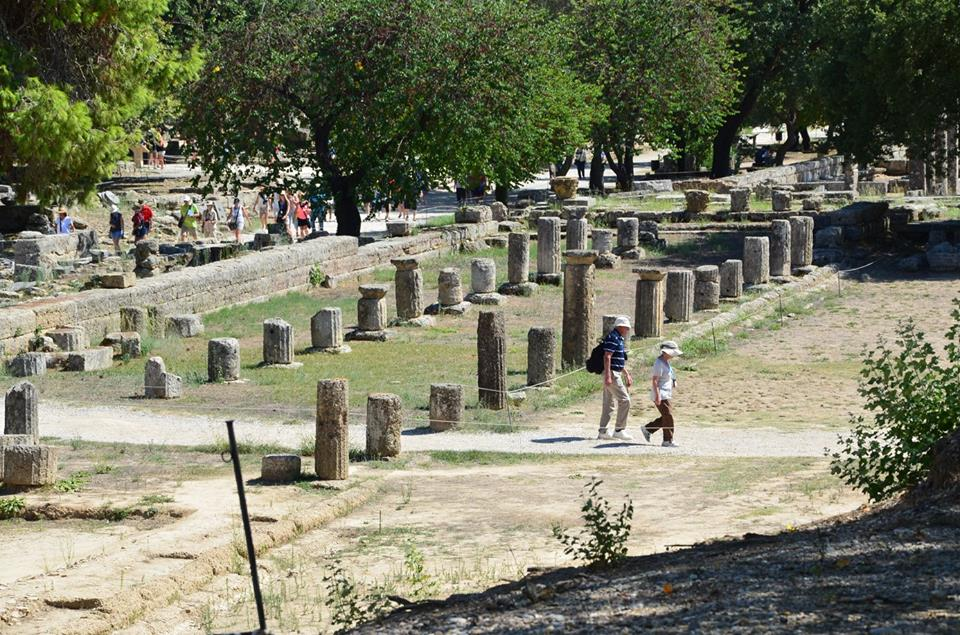 Peloponnese activities for families Ancient Olympia family guided tour kids love greece Percy Jackson Mythology Family Trip 7-day Package