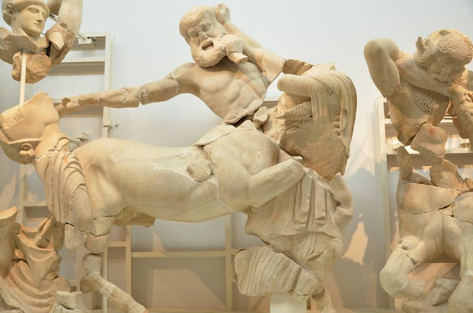 Ancient Olympia museum family guided tour kids love greece Peloponnese Percy Jackson Mythology Family Trip 7-day Package activities for families