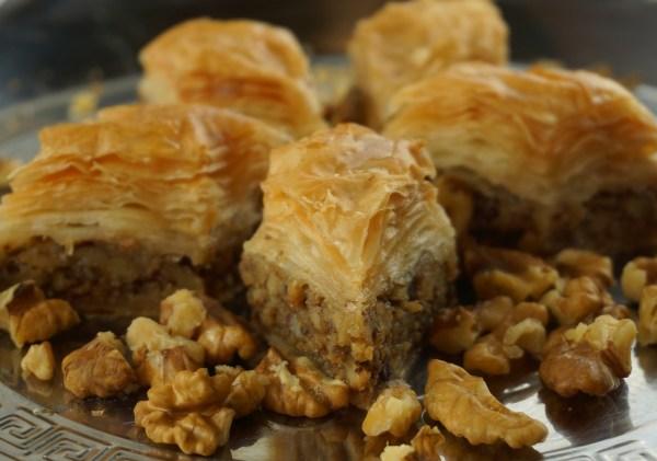 Athens Baklava Baking