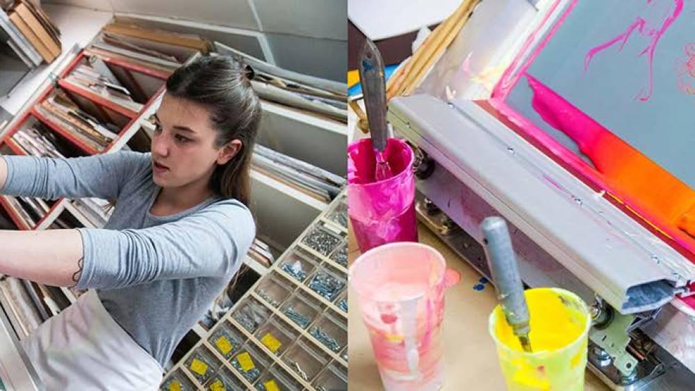 Silk Printing Family Workshop