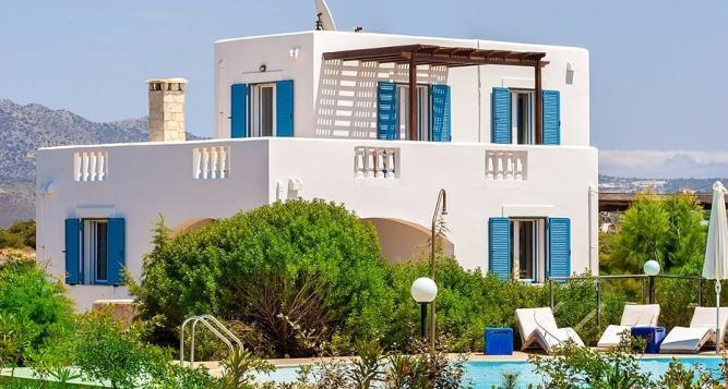 Family Villa Blue Stavros, Akrotiri, Chania