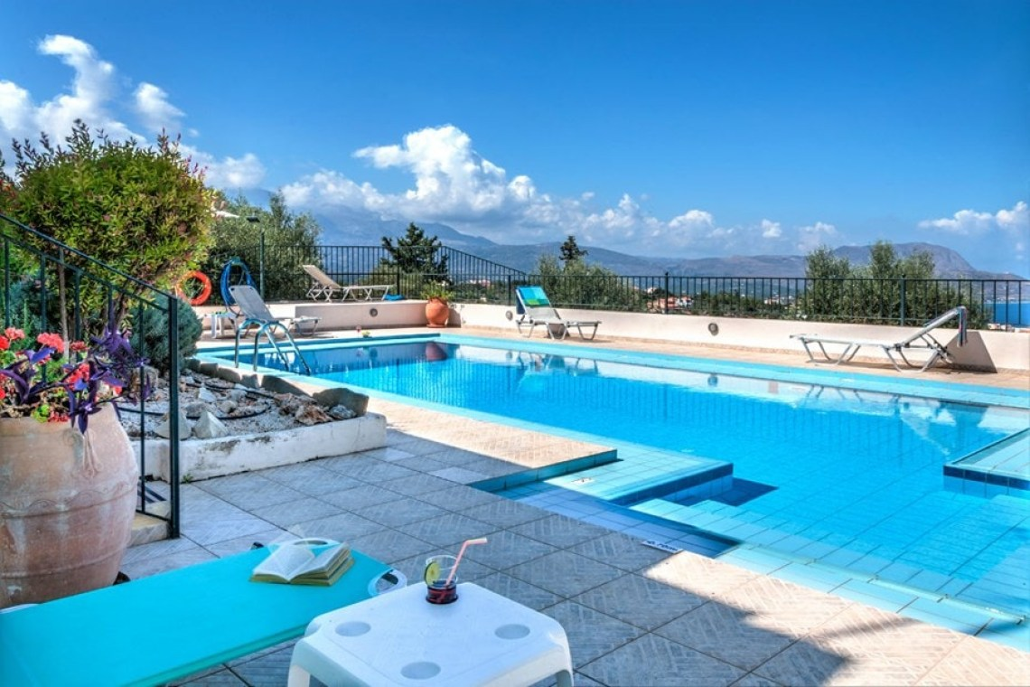 chania family villa delfini kalo chorio crete kids love greece accommodation for families
