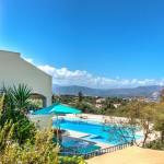 family villa delfini kalo chorio chania crete kids love greece accommodation for families