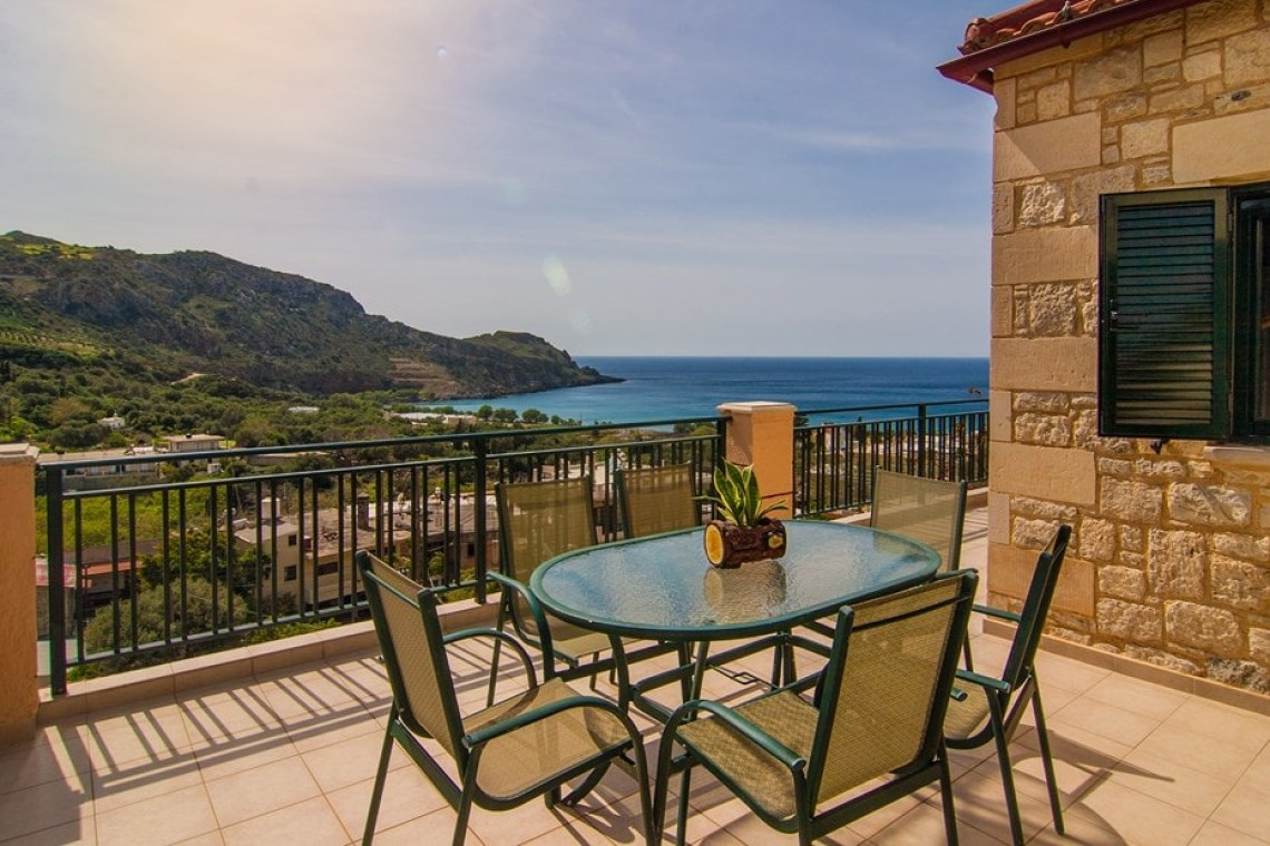 family villa klio kids love greece accommodation for families sfinari western chania crete
