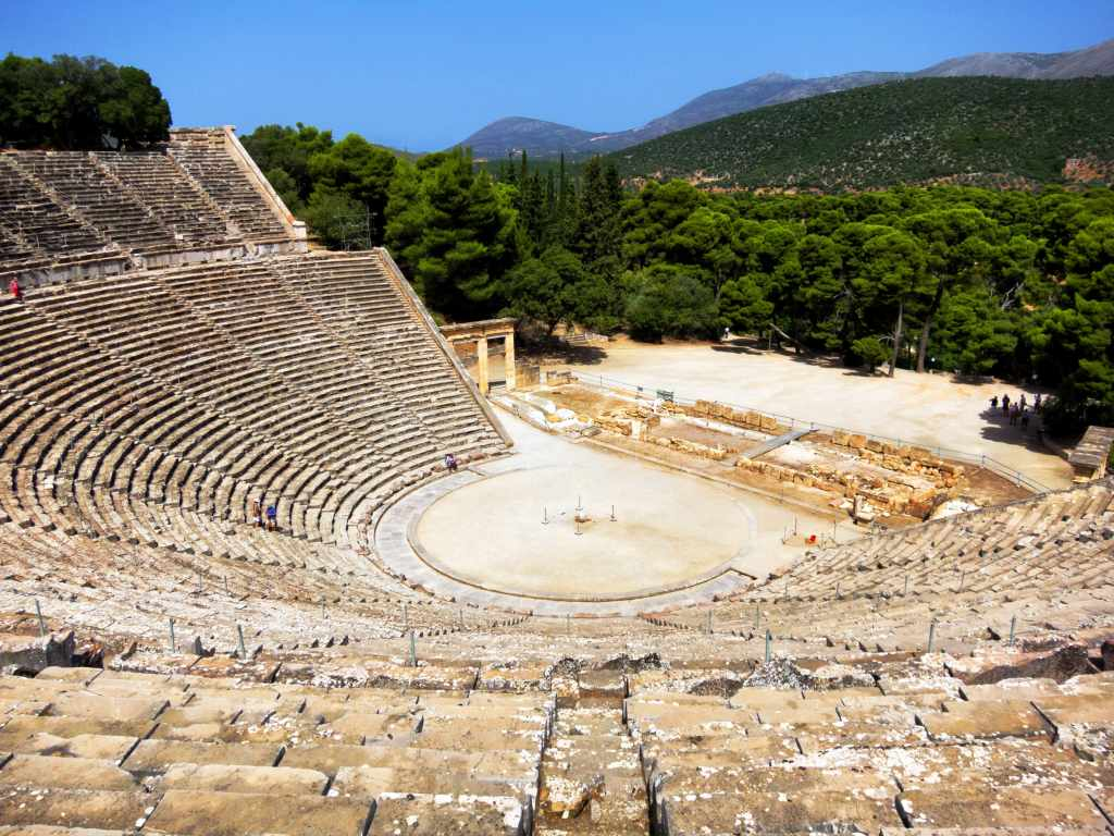 Epidaurus family guided tour family guided tour kids love greece Peloponnese Percy Jackson Mythology Family Trip 7-day Package activities for families