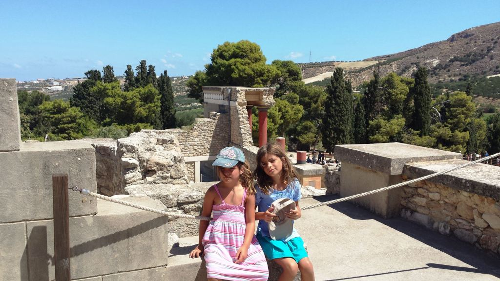 Knossos family guided tour Percy Jackson Mythology Family Trip 7-day Package activities for families kids love greece Crete