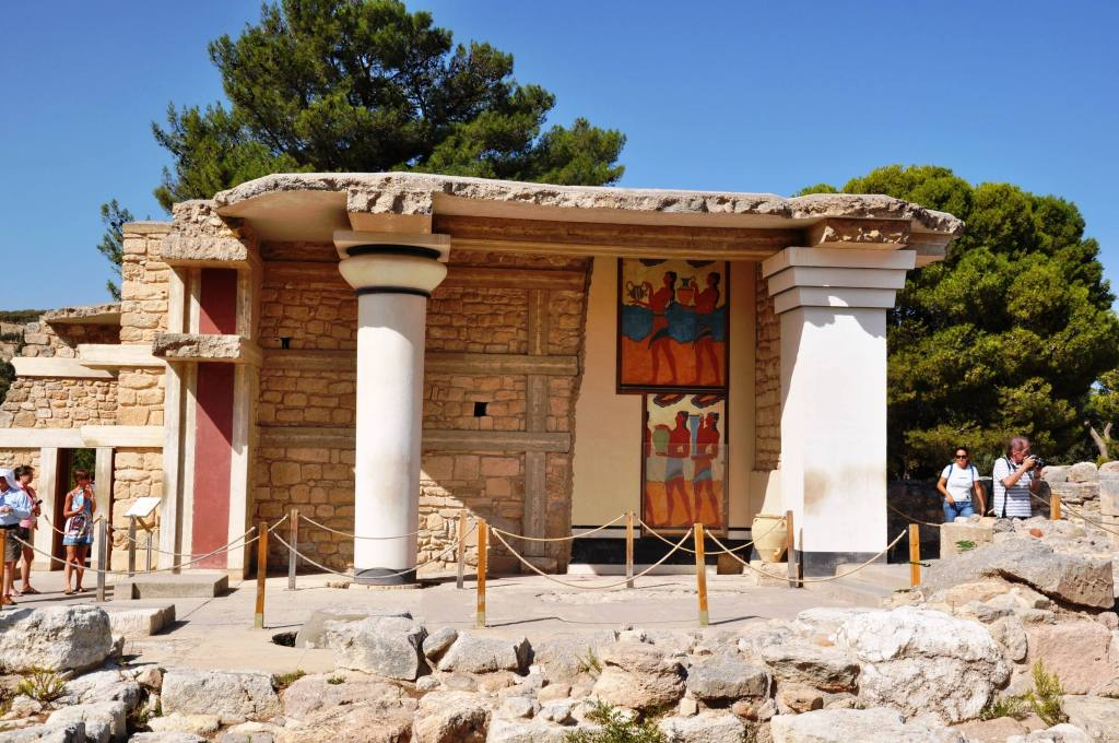 Percy Jackson Mythology Family Trip 7-day Package activities for families Knossos family guided tour kids love greece Crete