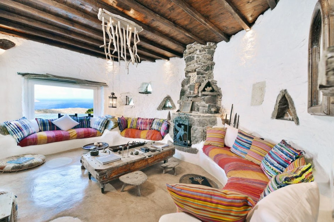 kids love greece the Drakothea family residence in Myconos island luxury villa cyclades accommodation for families