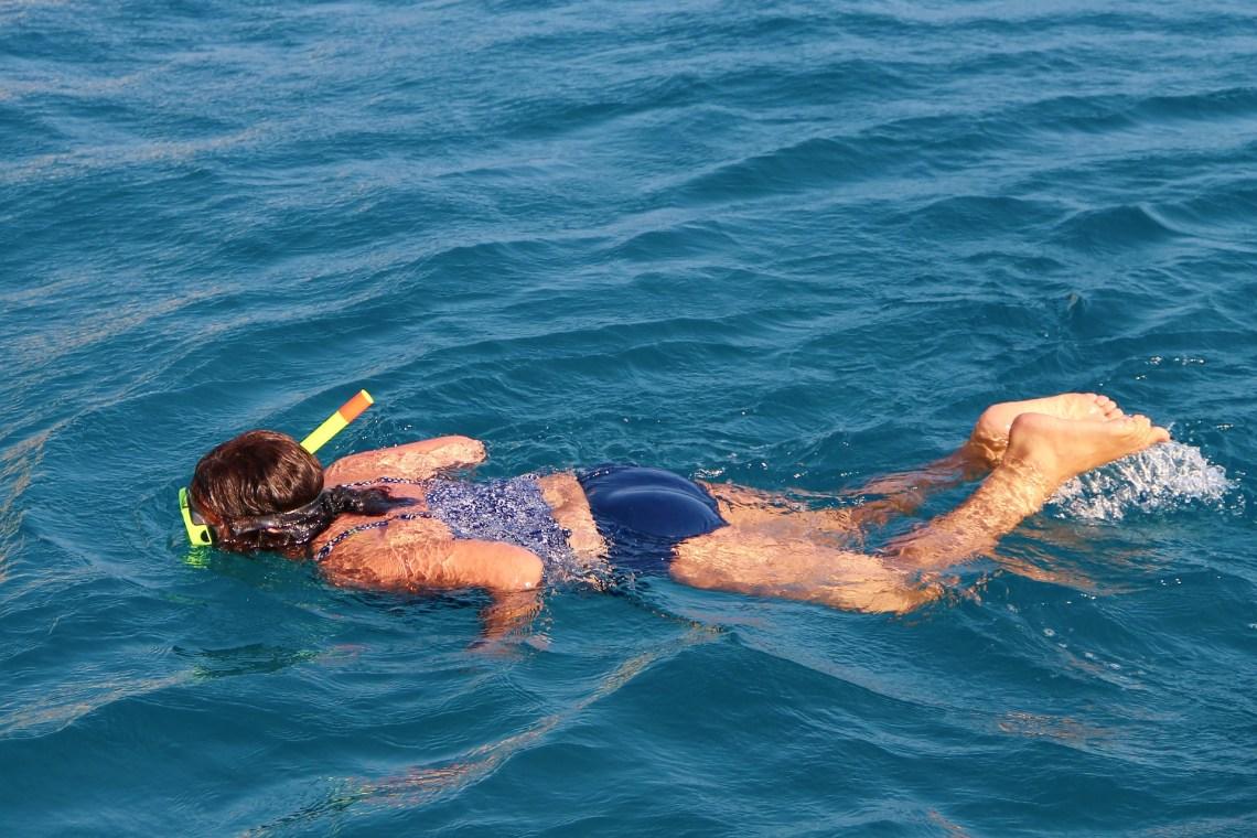 kid snorkeling family sailing greece KidsLoveGreece.com