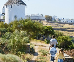 Guided Family Hiking Adventure in Mykonos