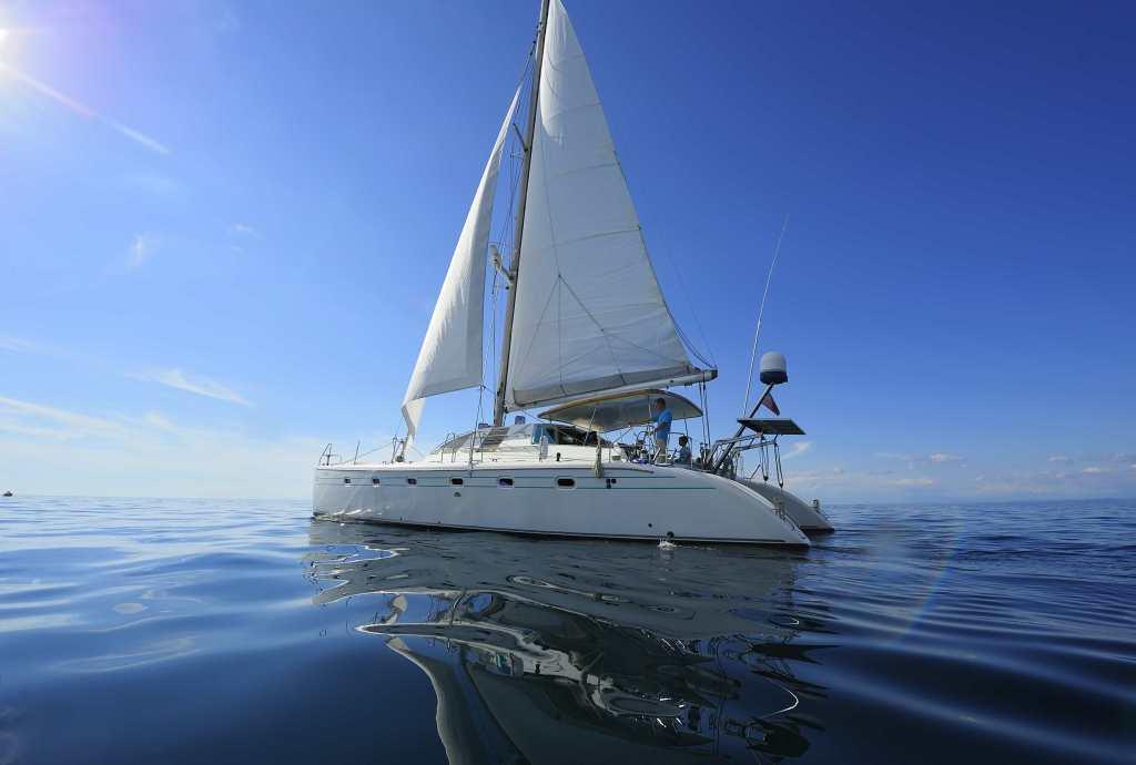 catamaran family sailing trip Athens riviera