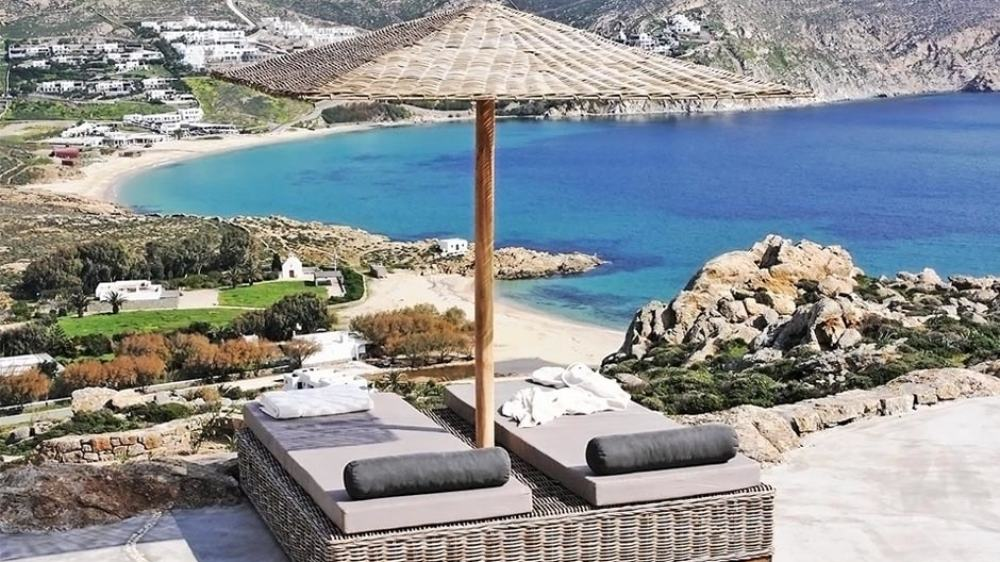 Luxury Stone Family Villa in Mykonos Island