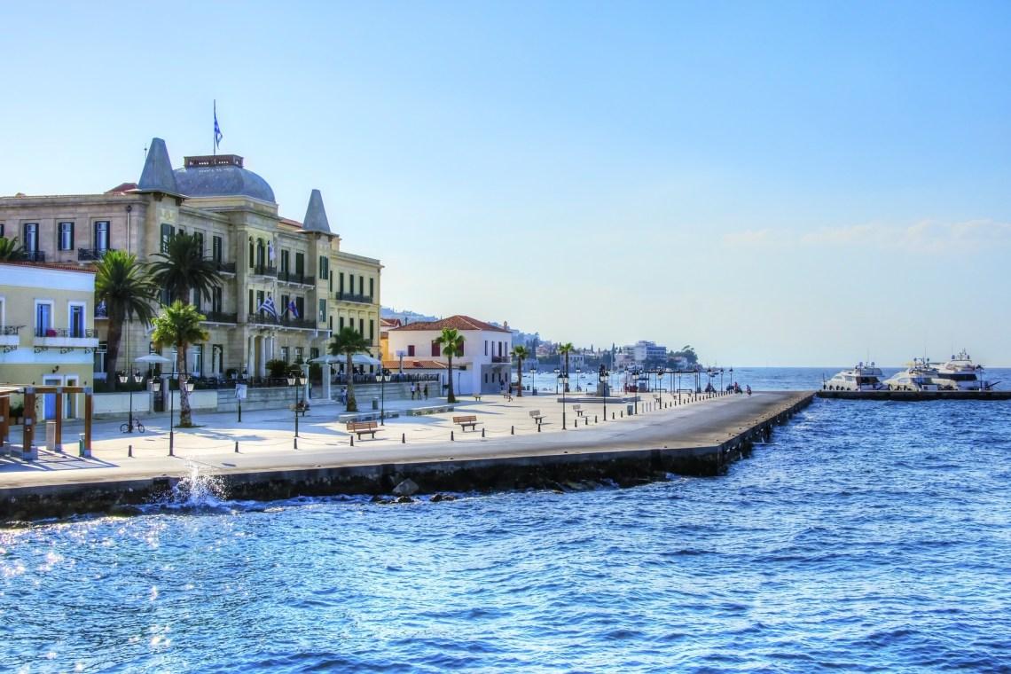 promenade of Spetses island