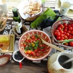 Family Greek Cooking Workshop on Kea Island day trip from Athens kids love Greece activities Cyclades