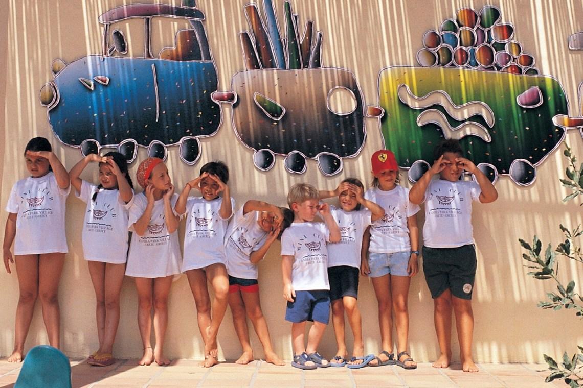 accommodation for families Crete candia park village family resort Agios Nikolaos kids love greece